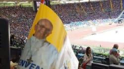 La prima volta di Papa Francesco all'Olimpico