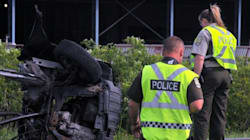 Saint-Liboire: deux morts dans une collision entre une voiture et un train