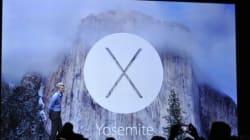 アップル OS X 10.10 Yosemite