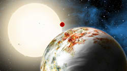 Une planète géante surnommée