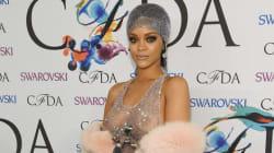 Rihanna toute nue (ou presque) sous sa