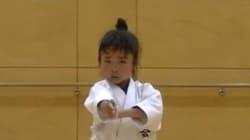 Une ceinture noire de karaté, même à 7 ans, c'est intimidant!