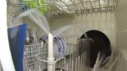 Un lavavajillas visto desde dentro (por si alguna vez te lo habías