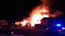 Fire Destroys Grande Prairie
