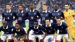 La composition de l'équipe de France sur