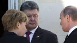 Poutine et Porochenko se sont rencontrés pour la première