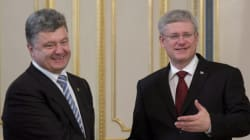 Harper Meets With New Ukrainian