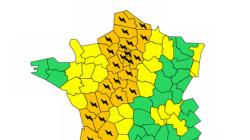Orages : 27 départements placés en vigilance