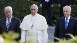 La rencontre historique entre le pape, Abbas et