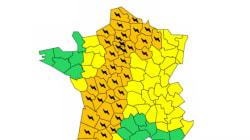 Orages: 41 départements en alerte