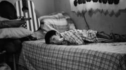 La prima notte da rifugiati non si dorme
