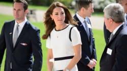 Kate Middleton Keeps It Simple In