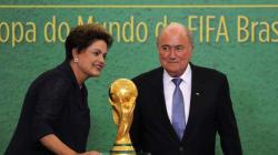 Mondial : le message de Dilma Rousseff aux 600.000