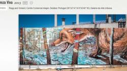 世界各地の美しいグラフィティ Googleのバーチャル博物館で閲覧可能に【画像】
