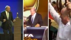 Sepp Blatter danse beaucoup (mais il n'a pas toujours aimé