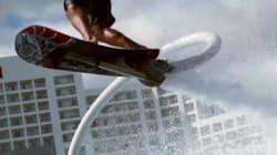 Un «Hoverboard» muni d'un jet pack sera