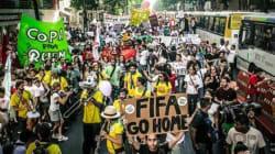 ブラジル混迷、ワールドカップ開幕も抗議デモ続く「要求、今しかない」【画像】