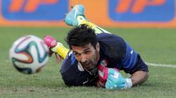 Italia Inghilterra, Buffon in dubbio per una distorsione alla caviglia