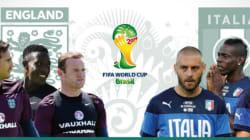 Italia-Inghilterra, la partita in
