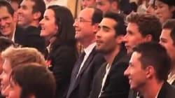 Hollande en fervent supporteur des Bleus, ça n'a pas plu à tout le