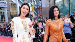 Kendall And Kylie Go Glam At