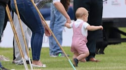 Prince George Ready To Jump On Ponies For Father's