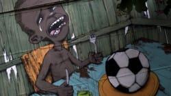 Mondial: le graffiti, autre arme des Brésiliens face au