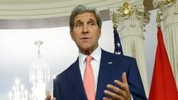 イラク空爆は「重要な選択肢」、アメリカ・ケリー国務長官が表明