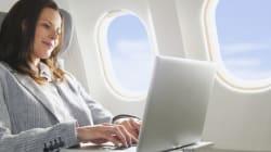Le wi-fi dans l'avion comme à la