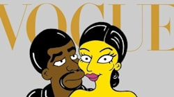 Kimye Gets Simpsonized