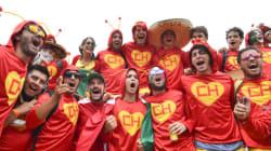 'Duelo' de torcidas: Chaves, Chapolin, verde e