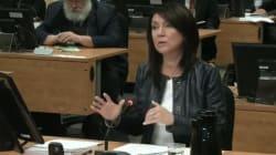 Commission Charbonneau: Nathalie Normandeau se défend d'avoir fait de l'ingérence