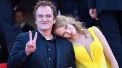Quentin Tarantino et Uma Thurman en