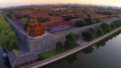 Ces incroyables images aériennes de Pékin l'ont conduit au