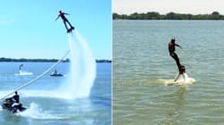 One Of Our Writers Flew A Jetpack. It Didn't Go So