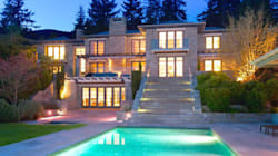 LOOK: Jaw-Dropping West Van Mansion For