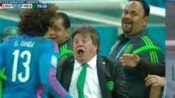 La pazza esultanza dell'allenatore del Messico (FOTO,