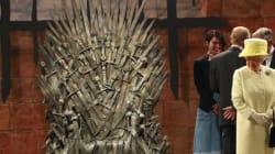 Isabel II ante el trono de hierro