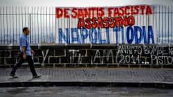 Morte Esposito, a Napoli scritta contro De Santis: