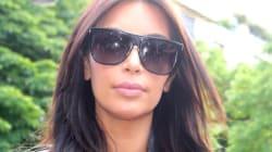 Kim Kardashian's Booty-Popping