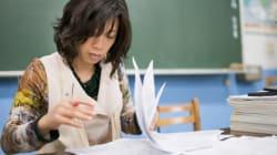 日本の先生、勤務時間は世界最長
