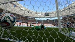 Le record de buts dans une Coupe du monde, 171,