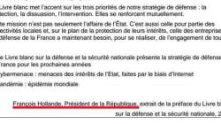Un texte de François Hollande au menu du brevet des