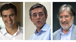 Pedro Sánchez arrasa en la lucha de avales y Pérez Tapias lo consigue por los
