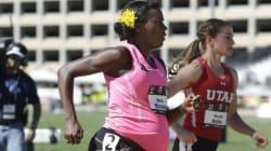 L'atleta col pancione corre... gli 800