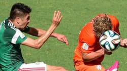 Mondial 2014: Les Pays-Bas en quarts sur le fil face au Mexique