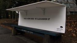 LOOK: Genius Bus Benches Help The