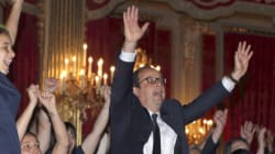 Hollande aussi était (très très) content de la victoire des