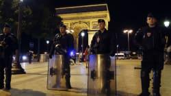 29 interpellations en France, quelques drapeaux à