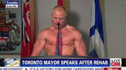 WATCH: Jimmy Kimmel's Spoof Of Rob Ford's